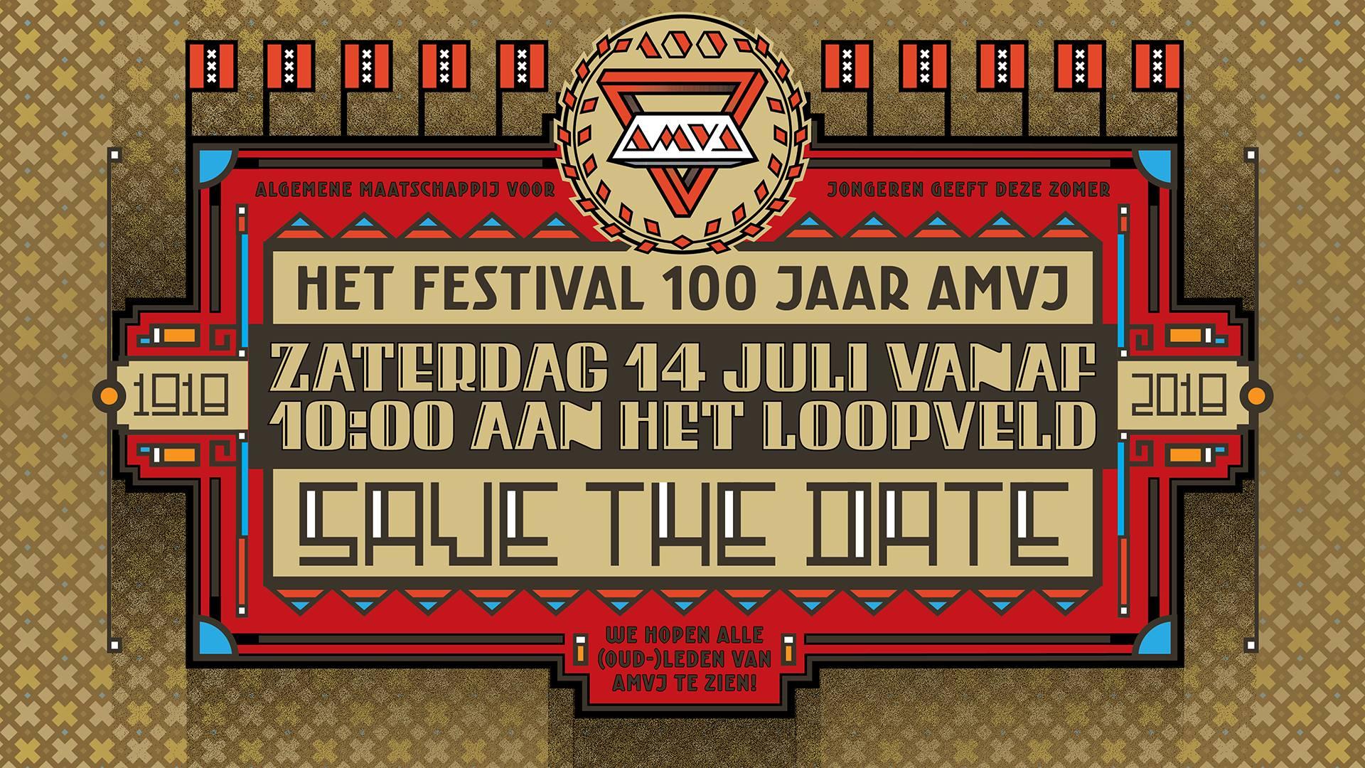 Zaterdag 14 juli 2018 – Festival AMVJ 100 Jaar